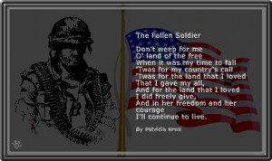 Fallen Soldier Quotes Inspirational   fallen soldier: Englishoh Hells ...