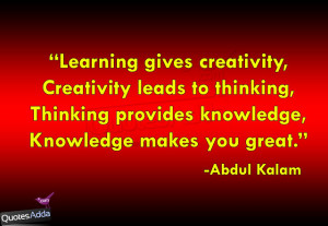 Education & Knowledge Quotations in English, Best Authors Quotes with ...