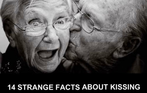 14 STRANGE FACTS ABOUT KISSING