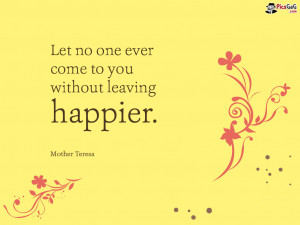 Mother Teresa Quote For Happy Life and You Like This Life Quote very ...