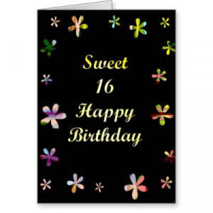 Search Results for: Happy Sweet Sixteen Birthday Cards