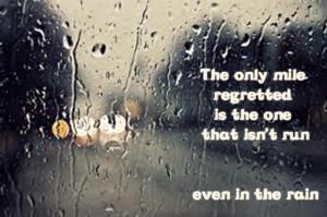 Rainy Running