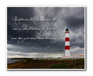 Anne Lamott lighthouse quote.