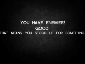 25 Awaring Quotes About Enemies