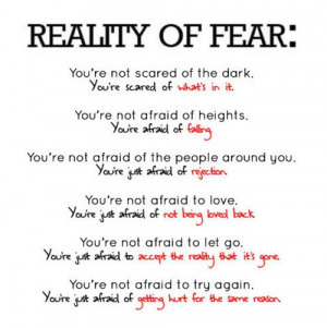 Fear Quotes Graphics