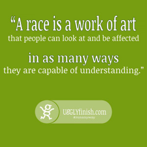 How has the art of the run affected you? How has it changed your ...