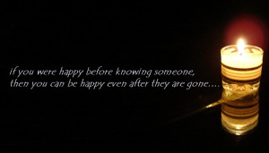 Sad Quotes:- After they are gone....