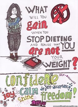 me drawing confidence weight loss diet weight numbers anorexia dieting ...