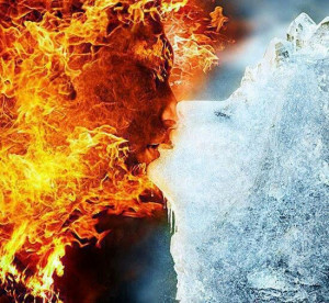 Fire and ice..