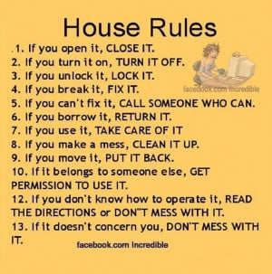 : Sayings Quotes, Sayings Messages, Menu, House Rules, Quotes Sayings ...