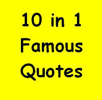 10 in 1 Daily Famous Quotes, Gadget