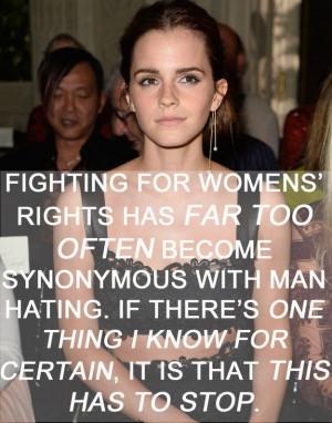 Emma Watson Feminist Quote
