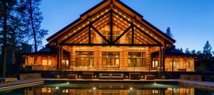 Huge Log Cabin Homes