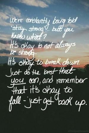 Its Okay Quotes