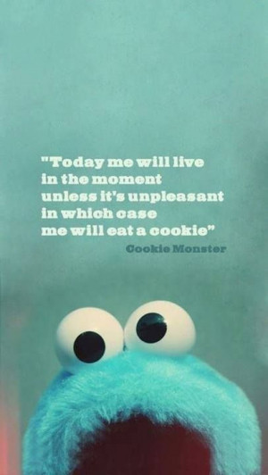 sesaluna: Cookie Monster so wise.