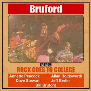 Bill Bruford Rock Goes To College UK LP RECORD BBWF009LP
