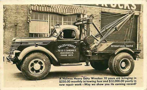 1939 International Holmes W35, no service body.