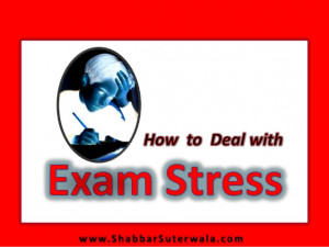 How to deal with exam stress