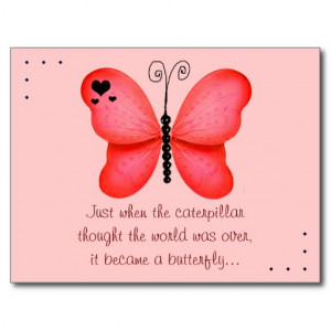 Beautiful Butterfly Pictures With Quotes The butterfly quote red