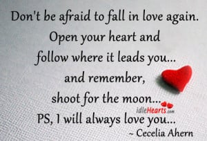 Afraid To Fall In Love Again Quotes Don't be afraid to fall in