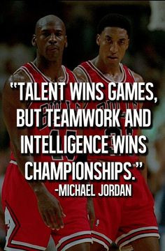 Michael Jordan Motivational Quotes about Teamwork