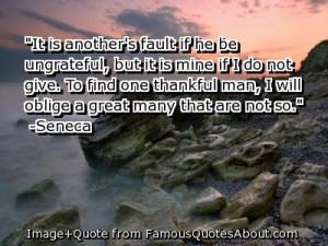ungrateful people