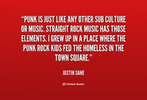 Punk Rock Music Quotes
