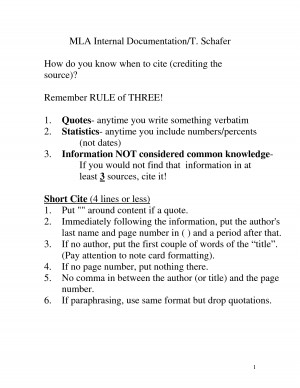 MLA Internal Documentation