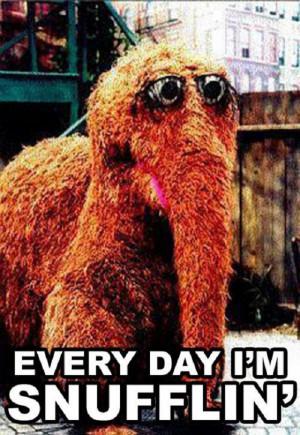 Every day I'm Snufflin'….