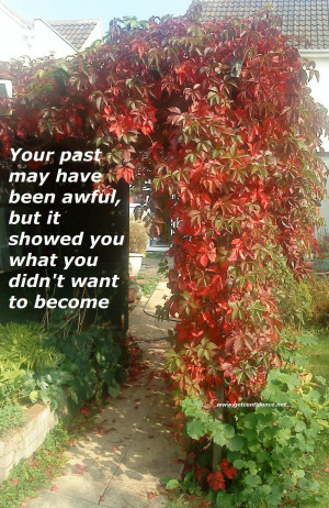 ... but It Showed You What You Didn't want to become ~ Confidence Quote