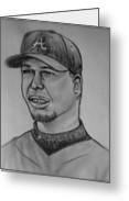 Chipper Jones Drawing Fine