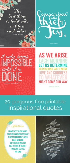 free printable quotes to print and frame | inspirational quotes ...