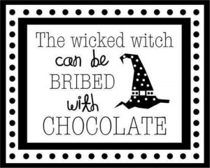 Yes indeed! Fun quote to turn into a Halloween decoration. Use your ...