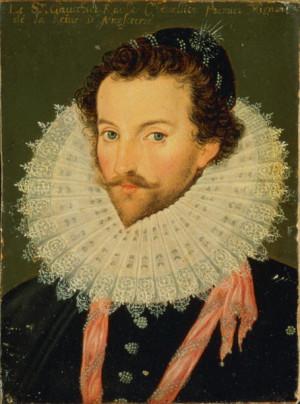 Description Sir Walter Raleigh, French School.jpg
