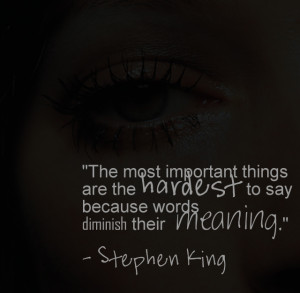 ... quote mondays and tagged stephen king the body bookmark the permalink