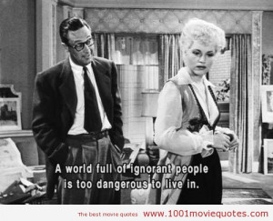 Quotes From Movie Born Yesterday 1950