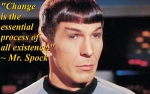 Star Trek quote - Spock