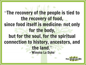 You can't eat nutritious food unless you growing nutritious food - The ...