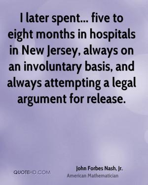 圖片標題: John Forbes Nash, Jr. Legal Quotes