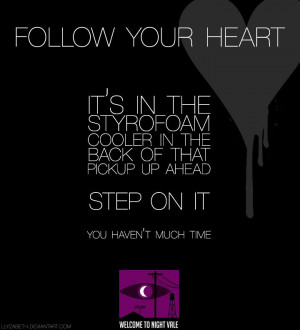 Awesome Welcome to Night Vale quote