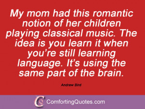 Sayings From Andrew Bird