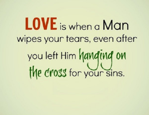 Jesus Love Quotes