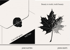 enolajay:Lovely Literary Art Prints featuring quotes By Famous Authors ...