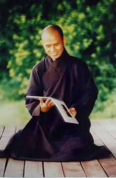 Thich Nhat Hanh who is recovering from a brain haemorrhage, prayers go ...