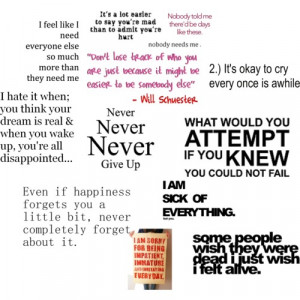 Just Not Good Enough Quotes http://www.polyvore.com/quotes/set?id ...