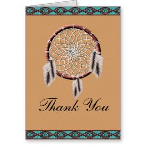 Native American Thanks