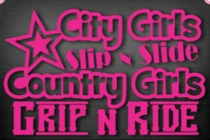 City girls/ Country Girls