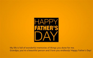 ... re A Beautiful Person And I Love You Endlessly! Happy Father's Day