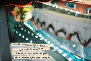 Christmas Song Quotes Tumblrchristmas Lights Coldplay Film Lyrics Song ...