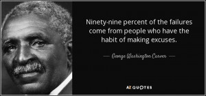 Ninety-nine percent of the failures come from people who have the ...